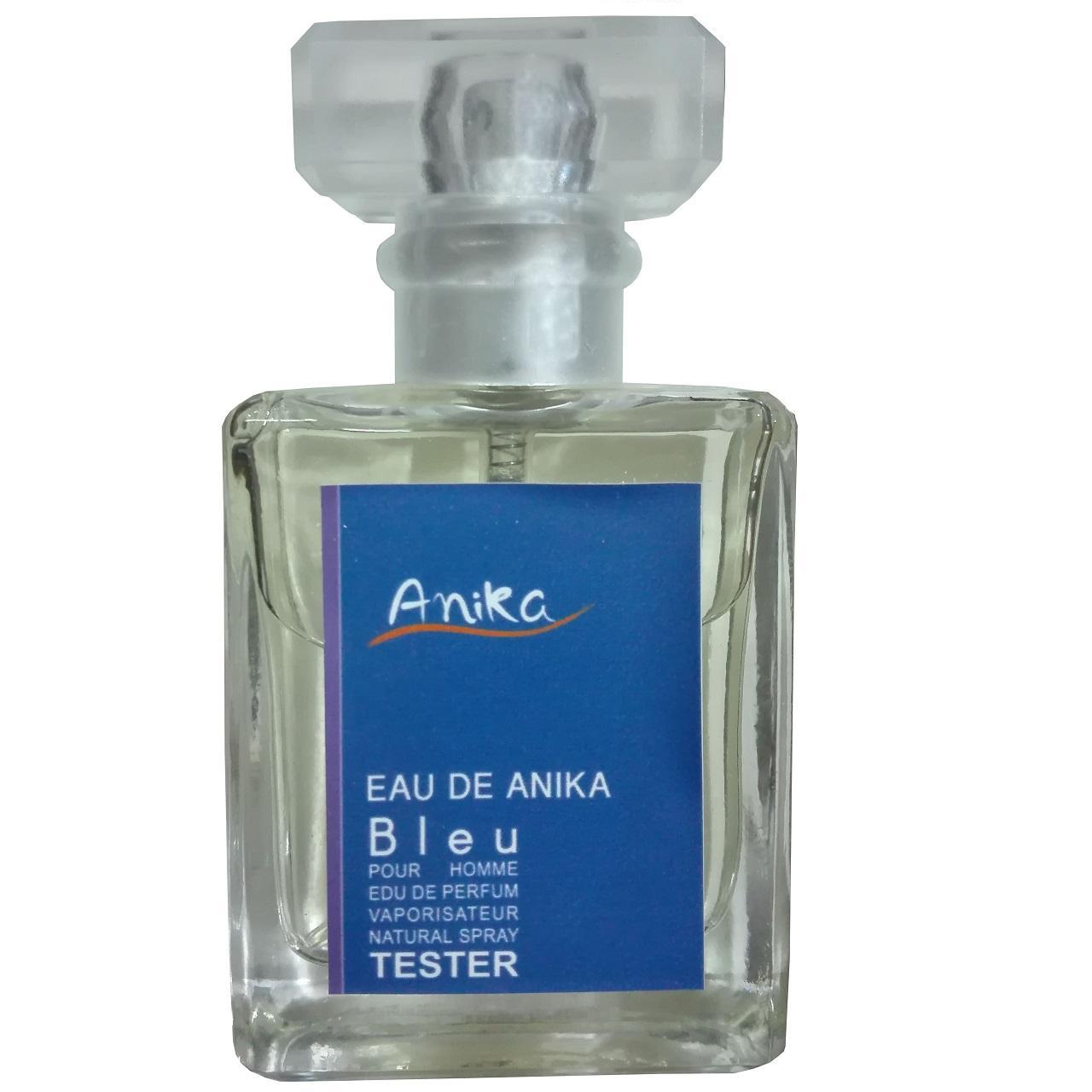 تستر عطر جیبی مردانه آنیکا مدل Bleu حجم 30 میلی لیتر