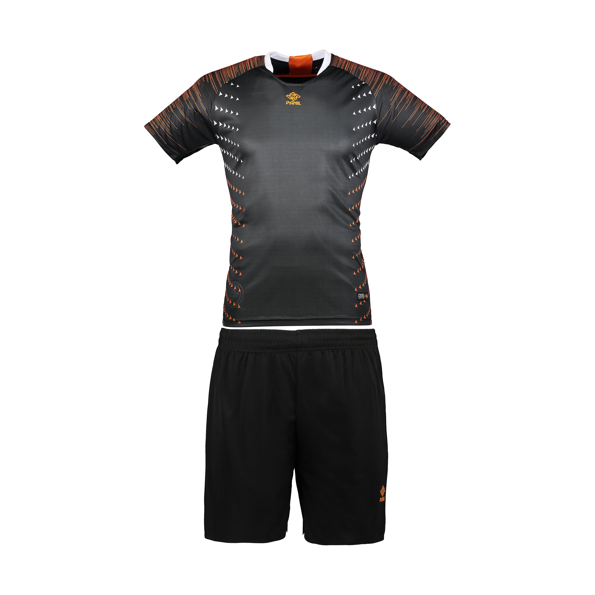 ست تی شرت و شلوارک مردانه پانیل مدل PA1104BO