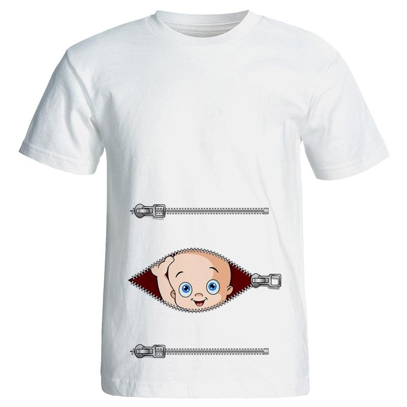 تیشرت بارداری طرح زیپ مدل 3950