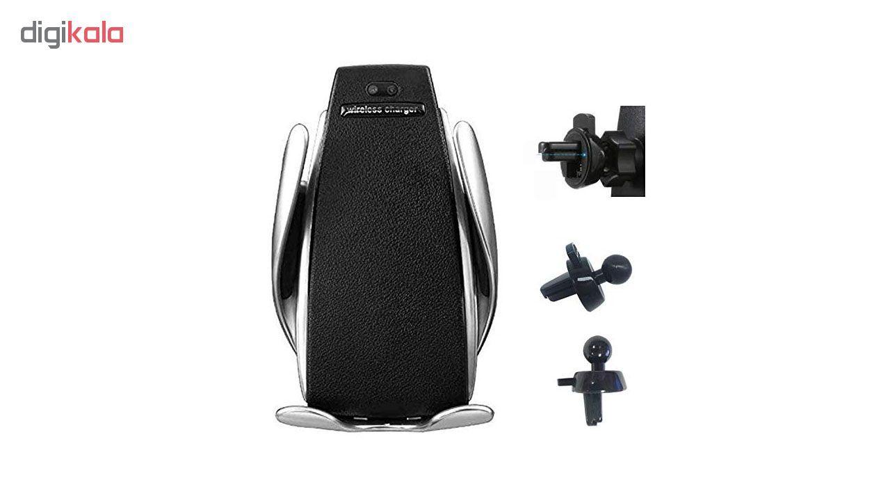 پایه نگهدارنده و شارژر بی سیم گوشی موبایل مدل S5 main 1 2