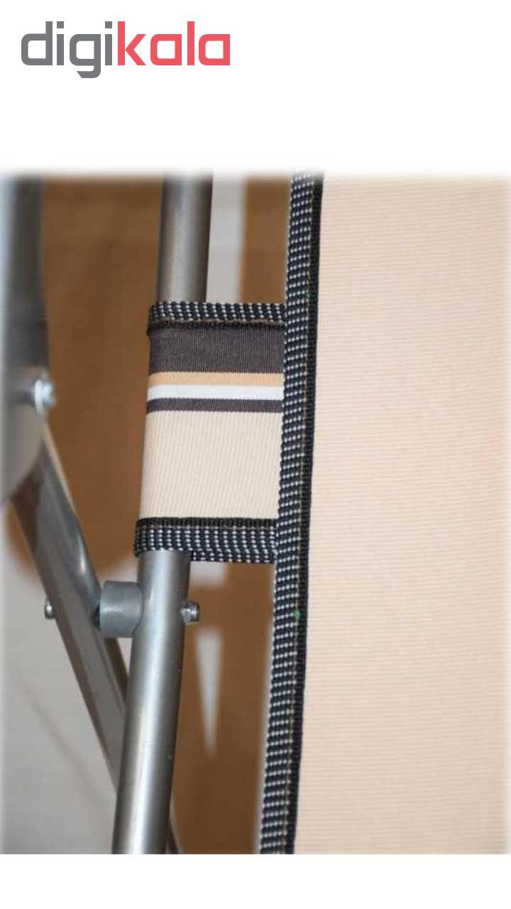 صندلی تاشو ساحلی مدل DE124 به همراه یک بسته ۹ عددی آویز