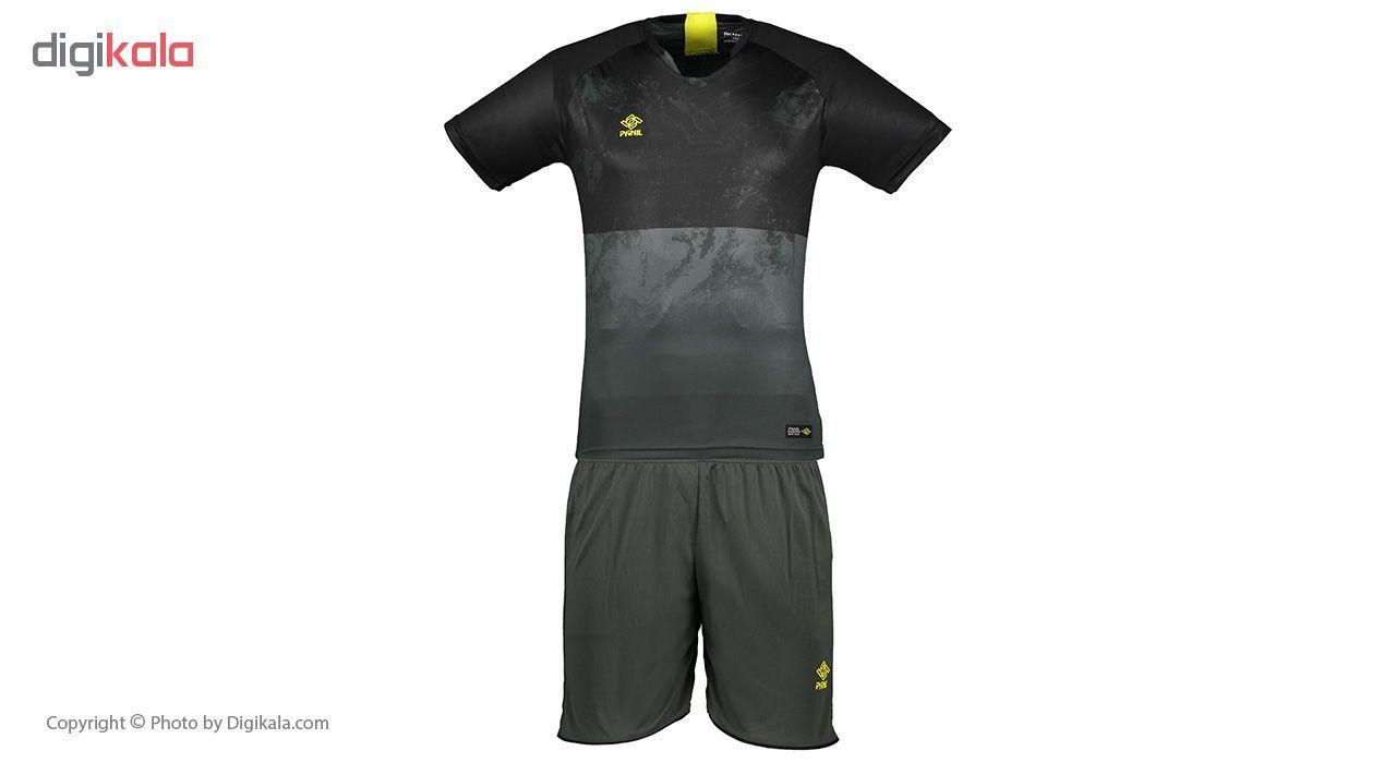ست تی شرت و شلوارک مردانه پانیل مدل PA1102BY -  - 1