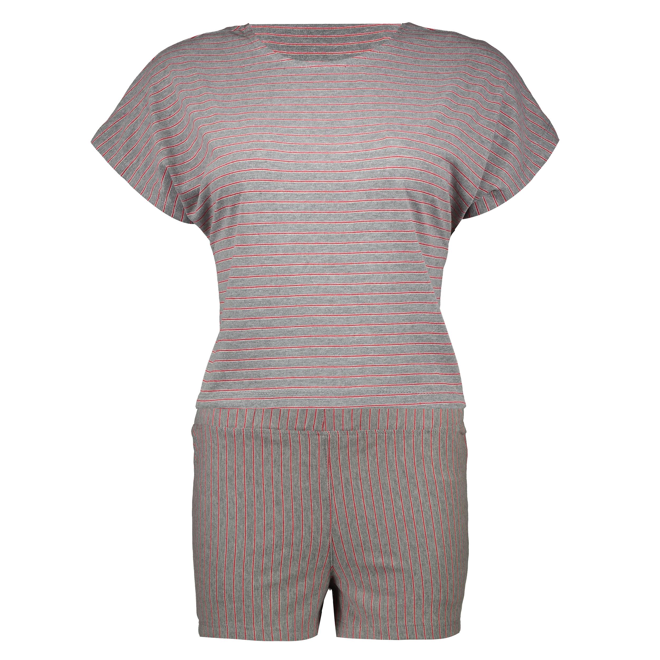 ست تی شرت و شلوارک زنانه گارودی مدل 1003214011-85