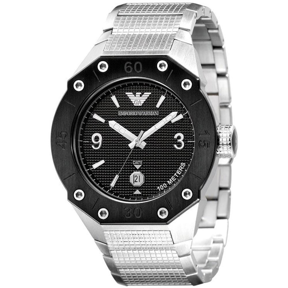 ساعت مچی عقربه ای مردانه امپریو آرمانی مدل AR0663