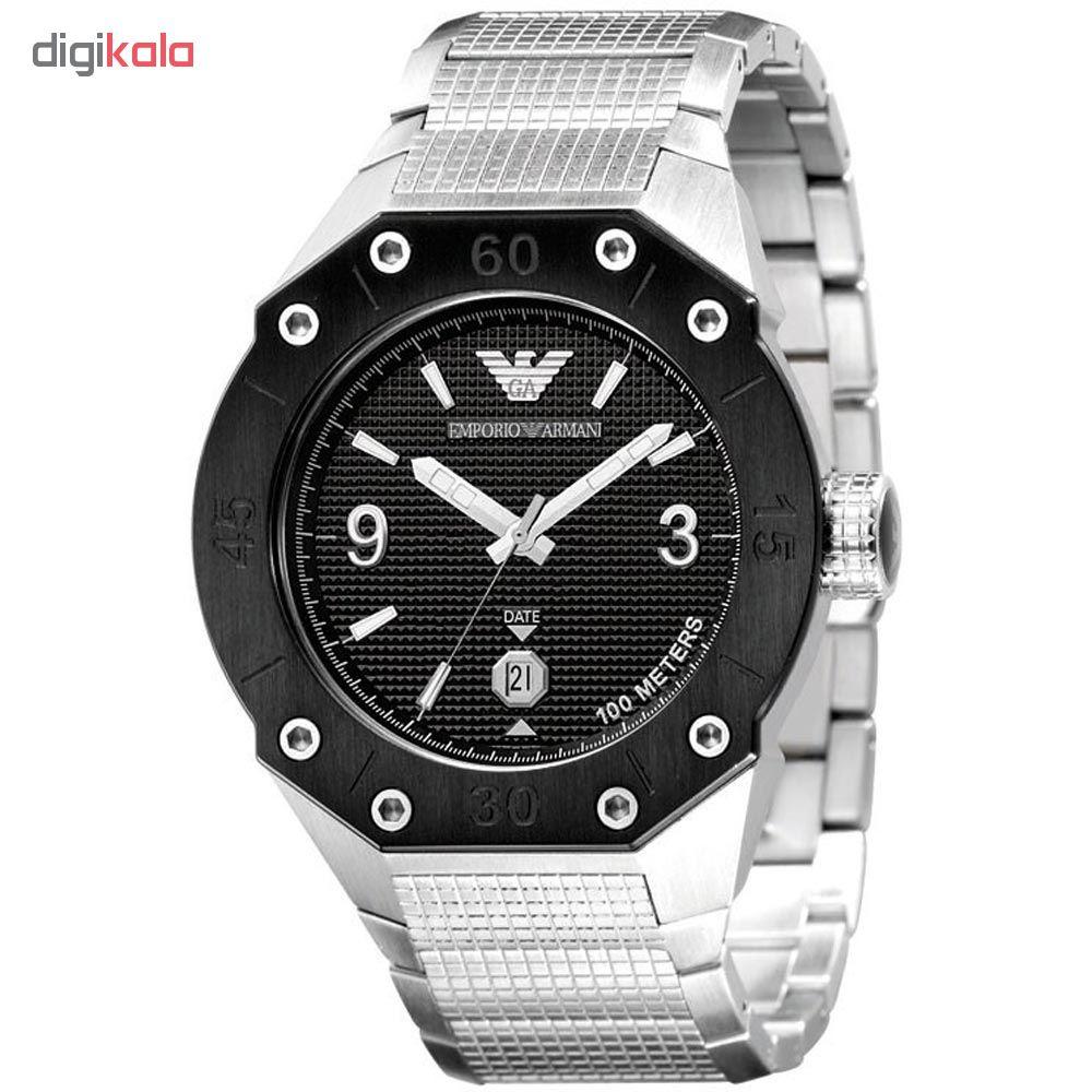 خرید ساعت مچی عقربه ای مردانه امپریو آرمانی مدل AR0663 | ساعت مچی