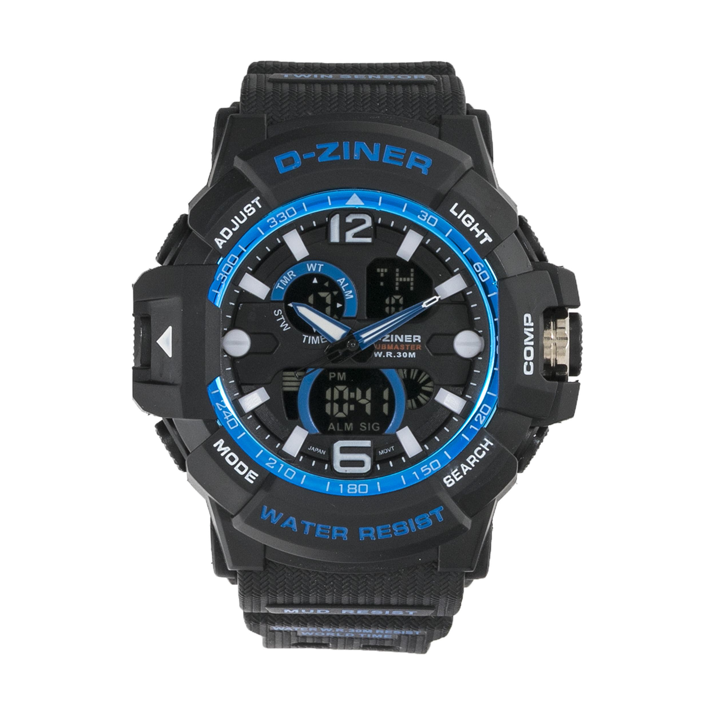 ساعت مچی عقربه ای مردانه دیزاینر مدل D-Z7056 37