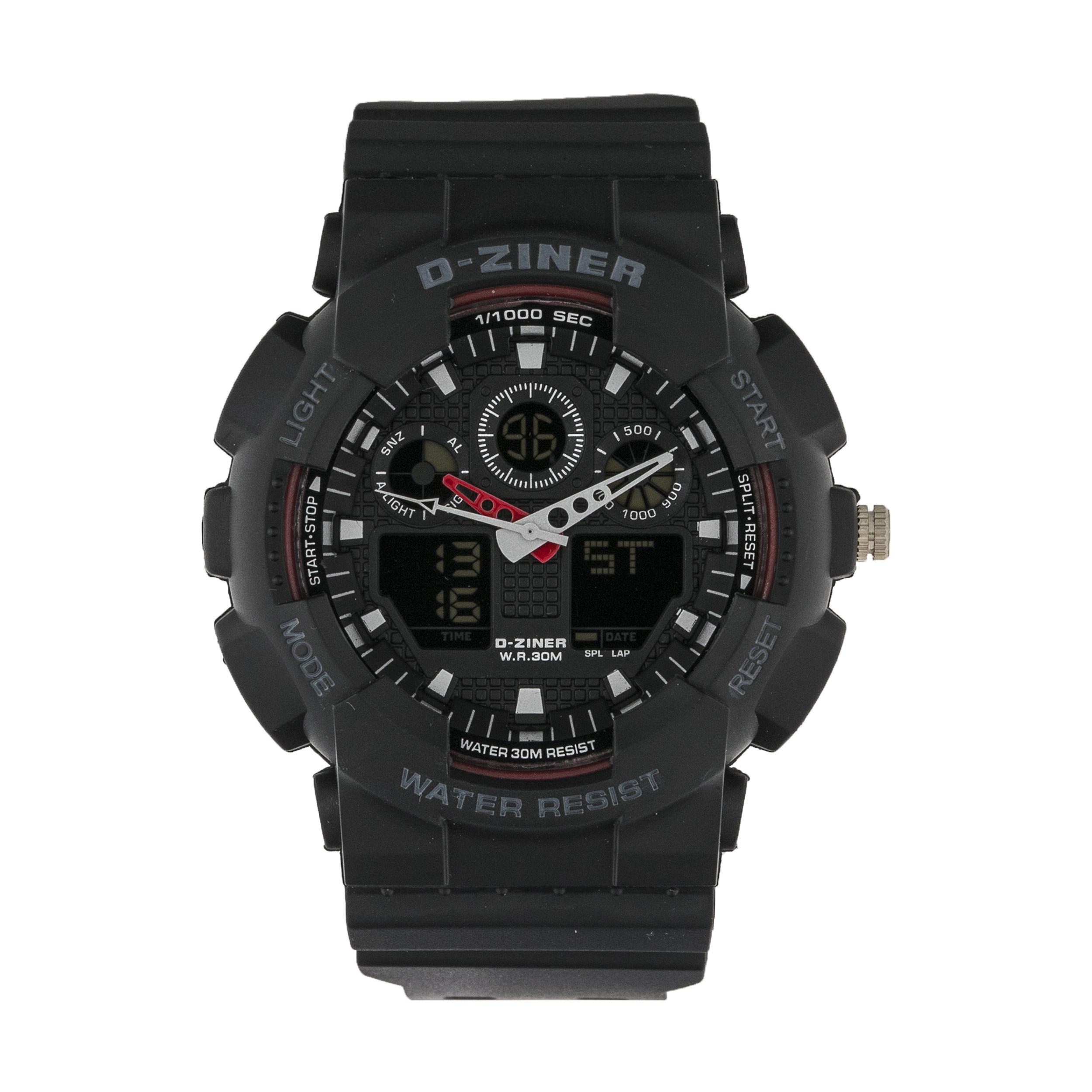 ساعت مچی عقربه ای مردانه دیزاینر مدل D-Z7003 42