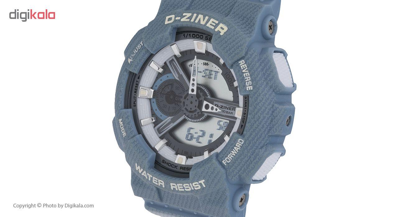 ساعت مچی عقربه ای مردانه دیزاینر مدل D-Z7018