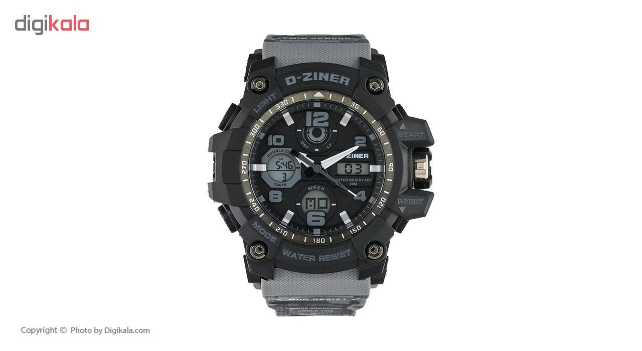 خرید ساعت مچی عقربه ای مردانه دیزاینر مدل D-Z7007
