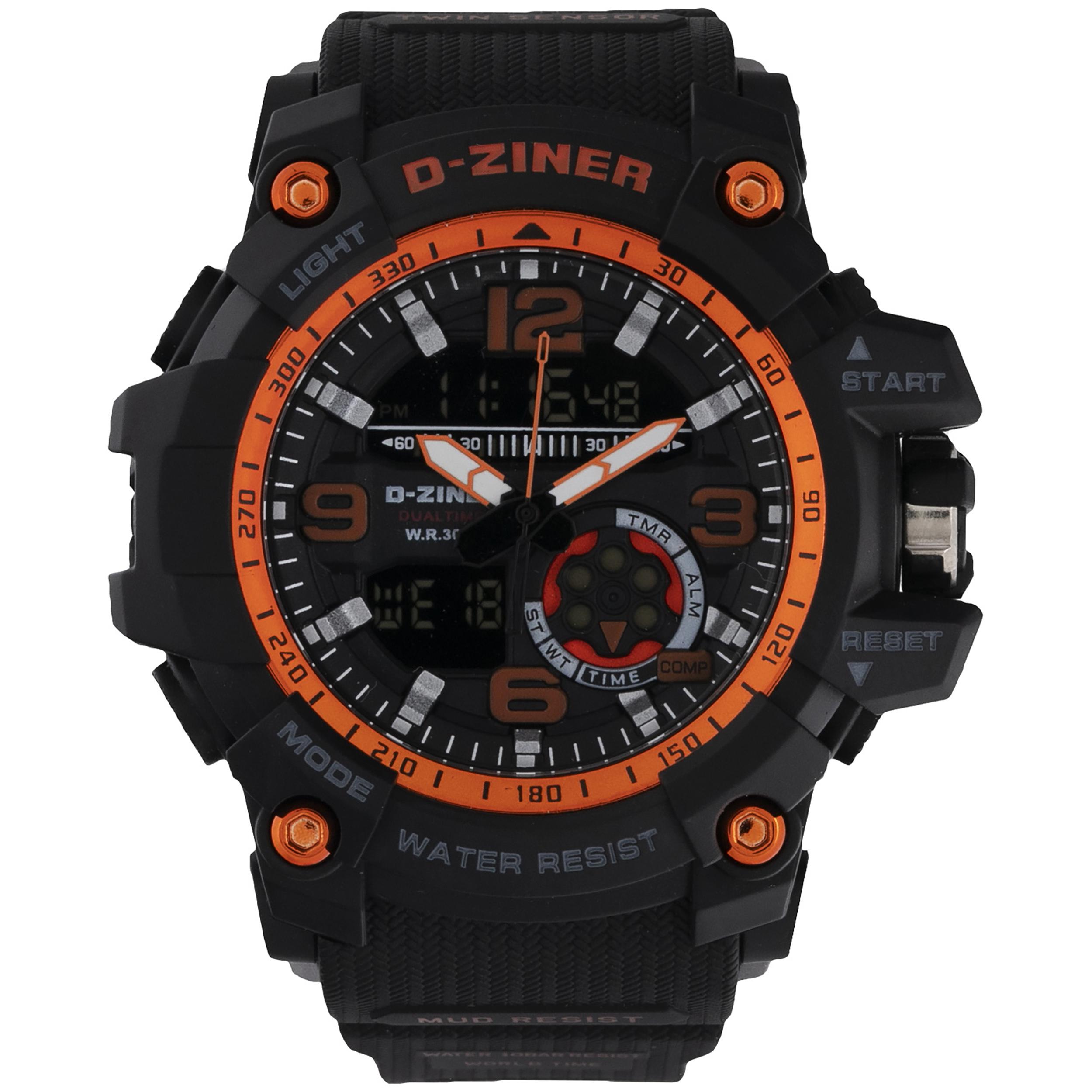 ساعت مچی عقربه ای مردانه دیزاینر مدل D-Z7013 21