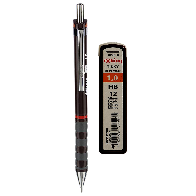 مداد نوکی 1.0 میلیمتری روترینگ مدل Tikky به همراه نوک 1.0 میلیمتری روترینگ