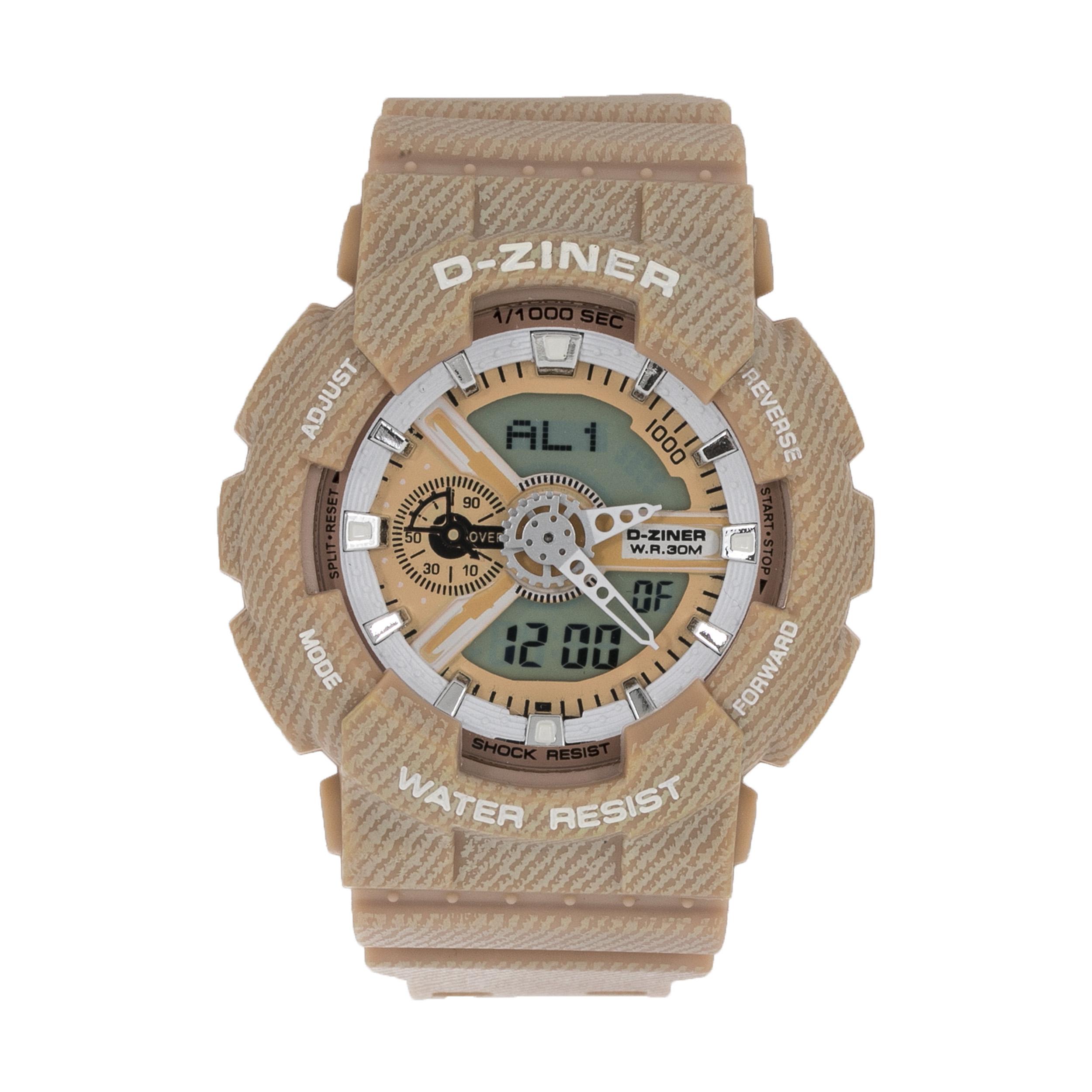 ساعت مچی عقربه ای مردانه دیزاینر مدل D-Z7010 34
