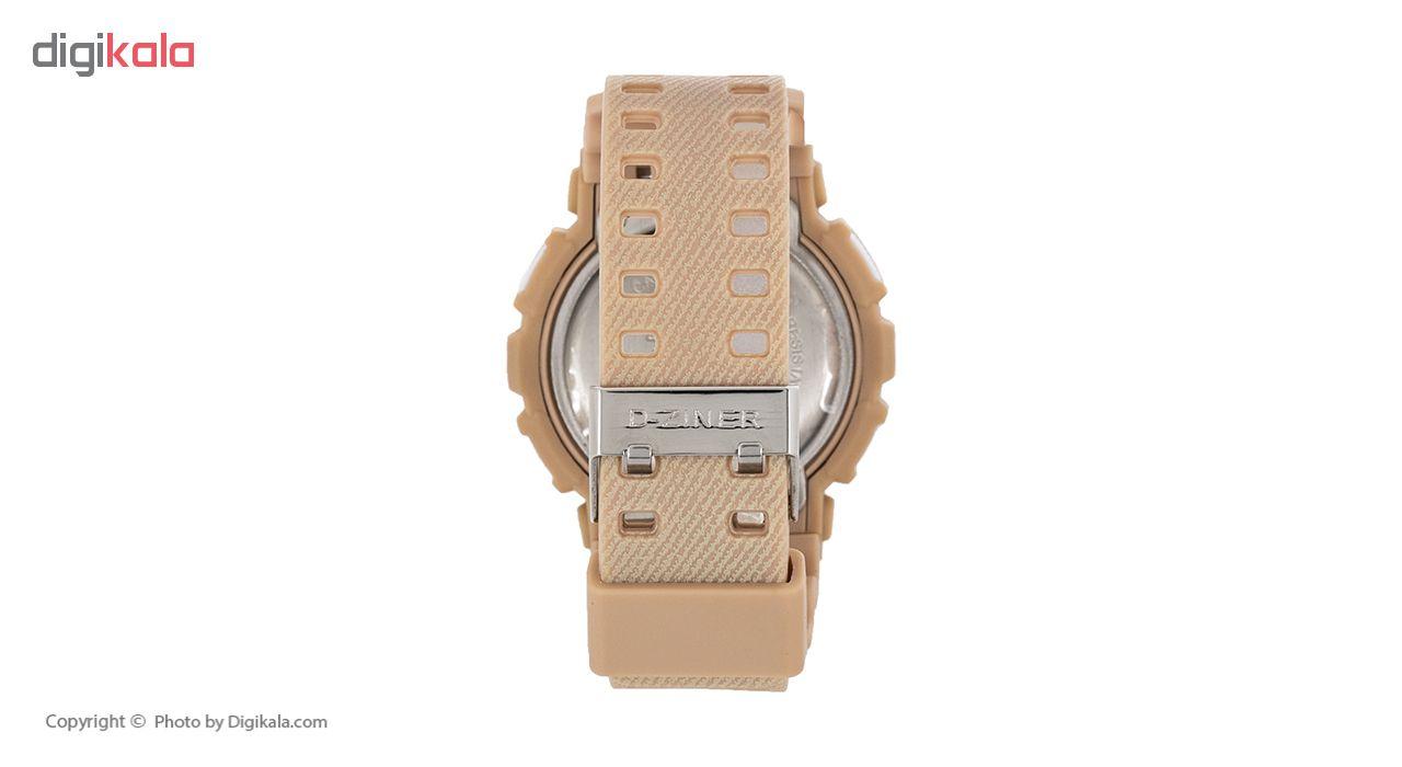 کد تخفیف                                      ساعت مچی عقربه ای مردانه دیزاینر مدل D-Z7010