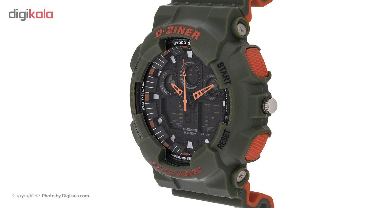 ساعت مچی عقربه ای مردانه دیزاینر مدل D-Z7034