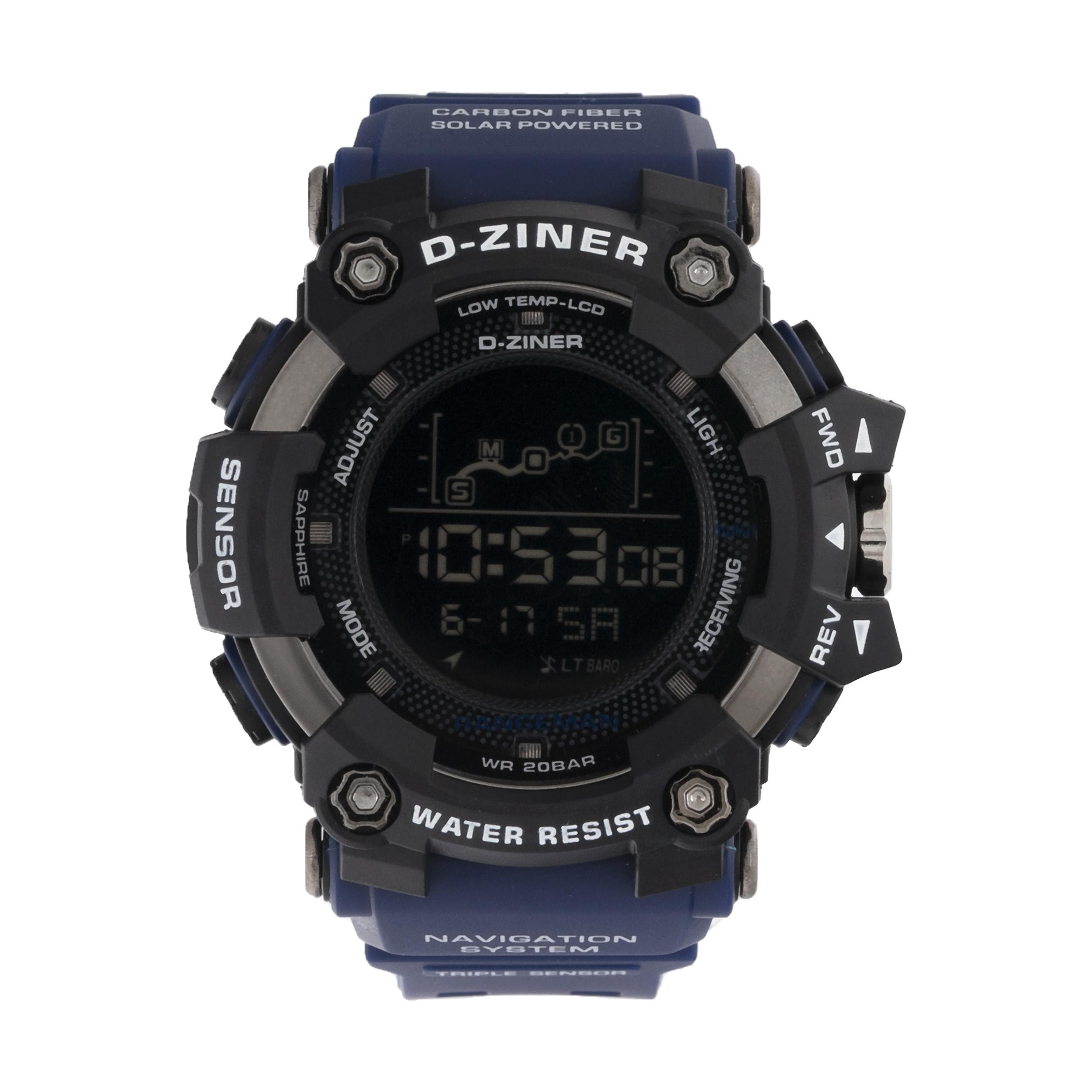 ساعت مچی دیجیتال مردانه دیزاینر مدل D-Z7036 43