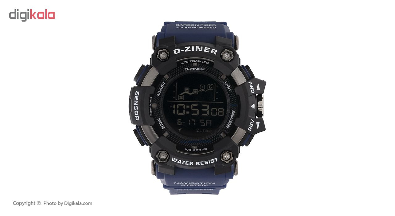 خرید ساعت مچی دیجیتال مردانه دیزاینر مدل D-Z7036