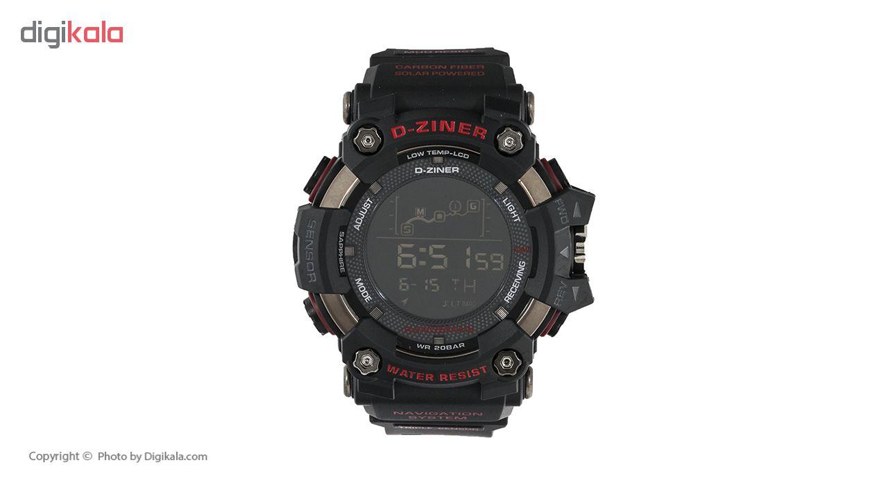 ساعت مچی دیجیتال مردانه دیزاینر مدل D-Z7042
