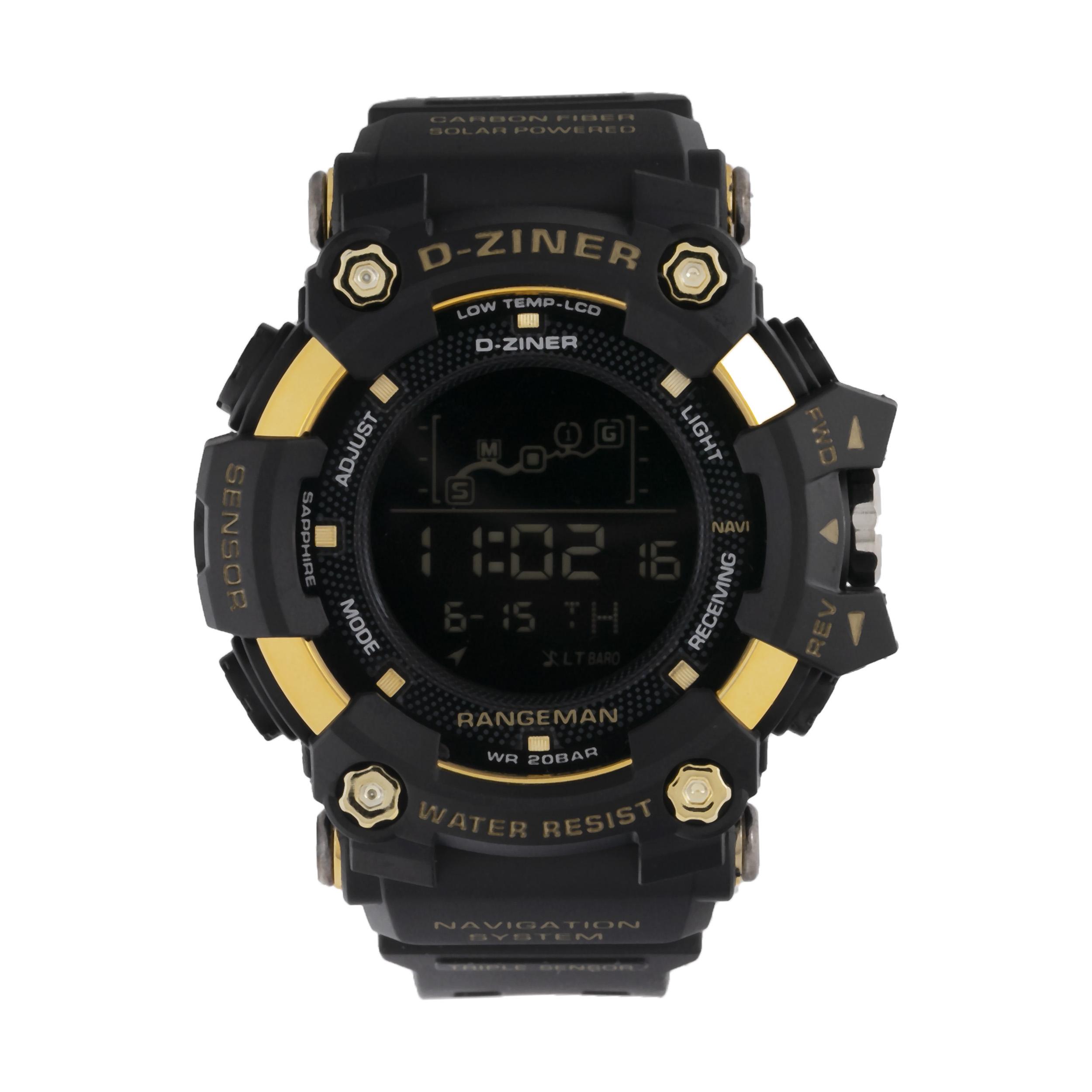 ساعت مچی دیجیتال مردانه دیزاینر مدل D-Z7057 10