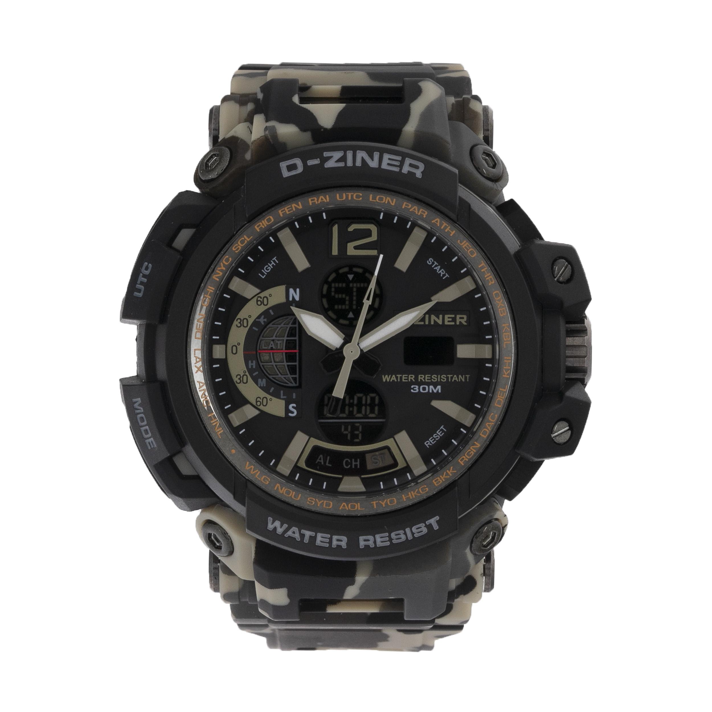 ساعت مچی عقربه ای مردانه دیزاینر مدل D-Z7044 11