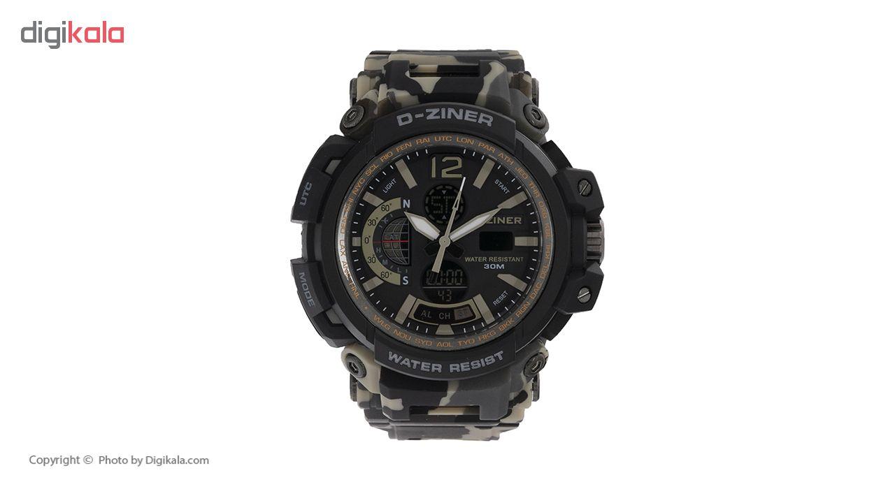 خرید ساعت مچی عقربه ای مردانه دیزاینر مدل D-Z7044