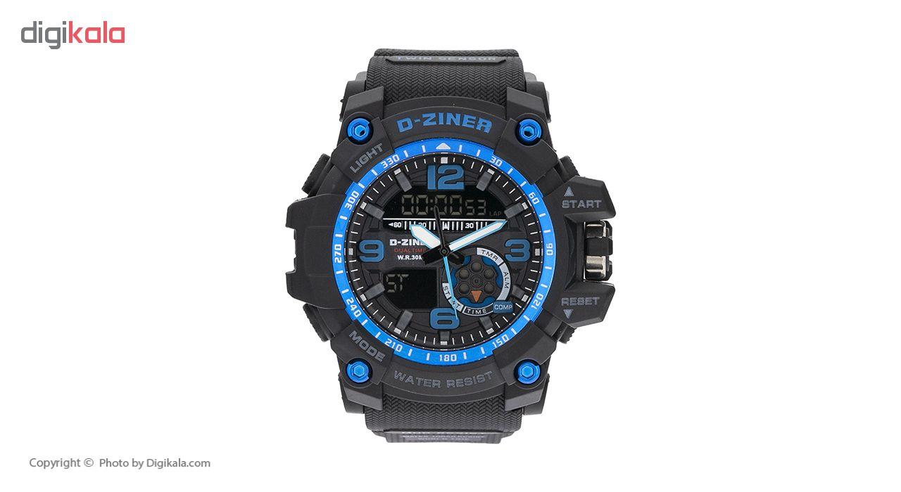 ساعت مچی عقربه ای مردانه دیزاینر مدل D-Z7041