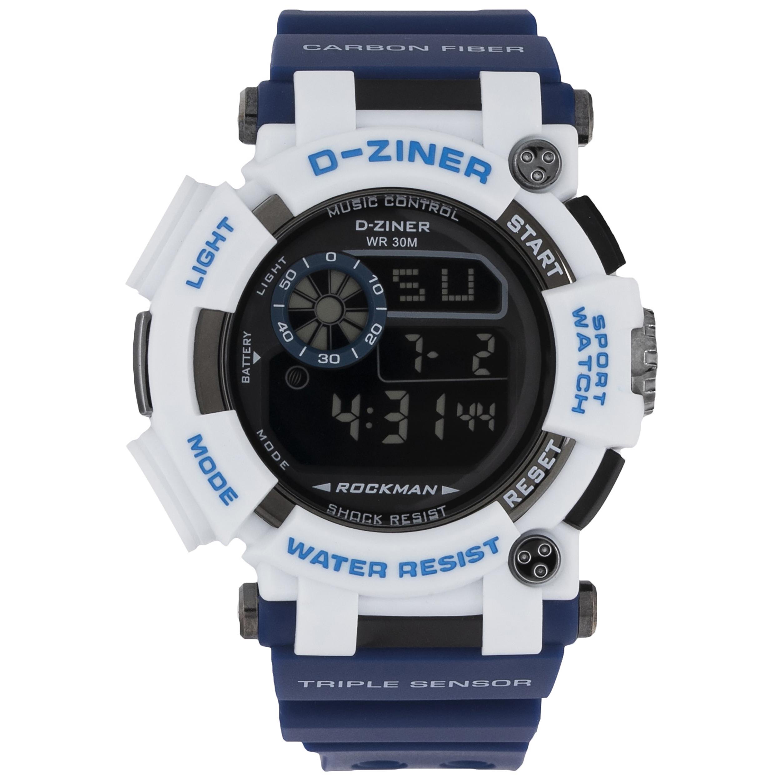 ساعت مچی دیجیتال مردانه دیزاینر مدل D-Z7035 11