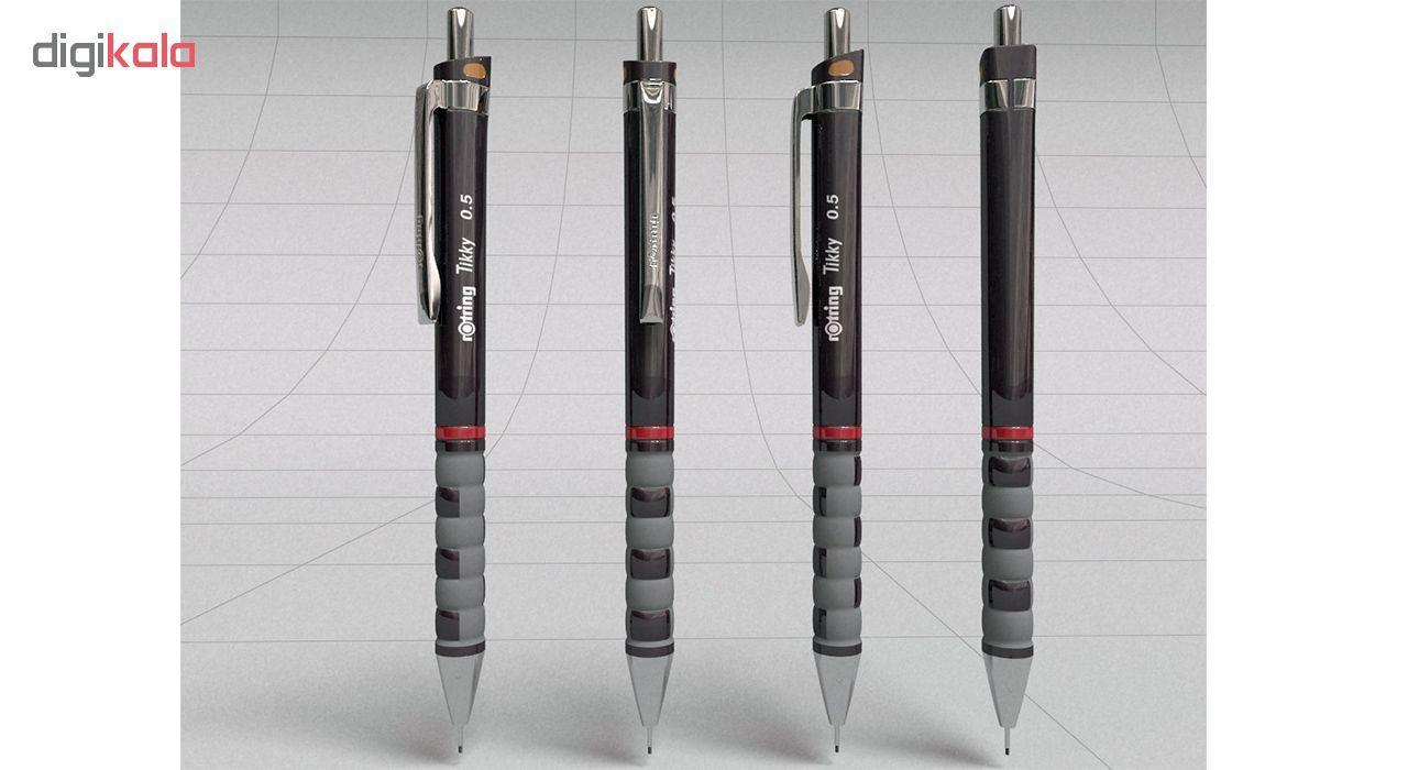 مداد نوکی 0.5 میلیمتری روترینگ مدل Tikky main 1 4