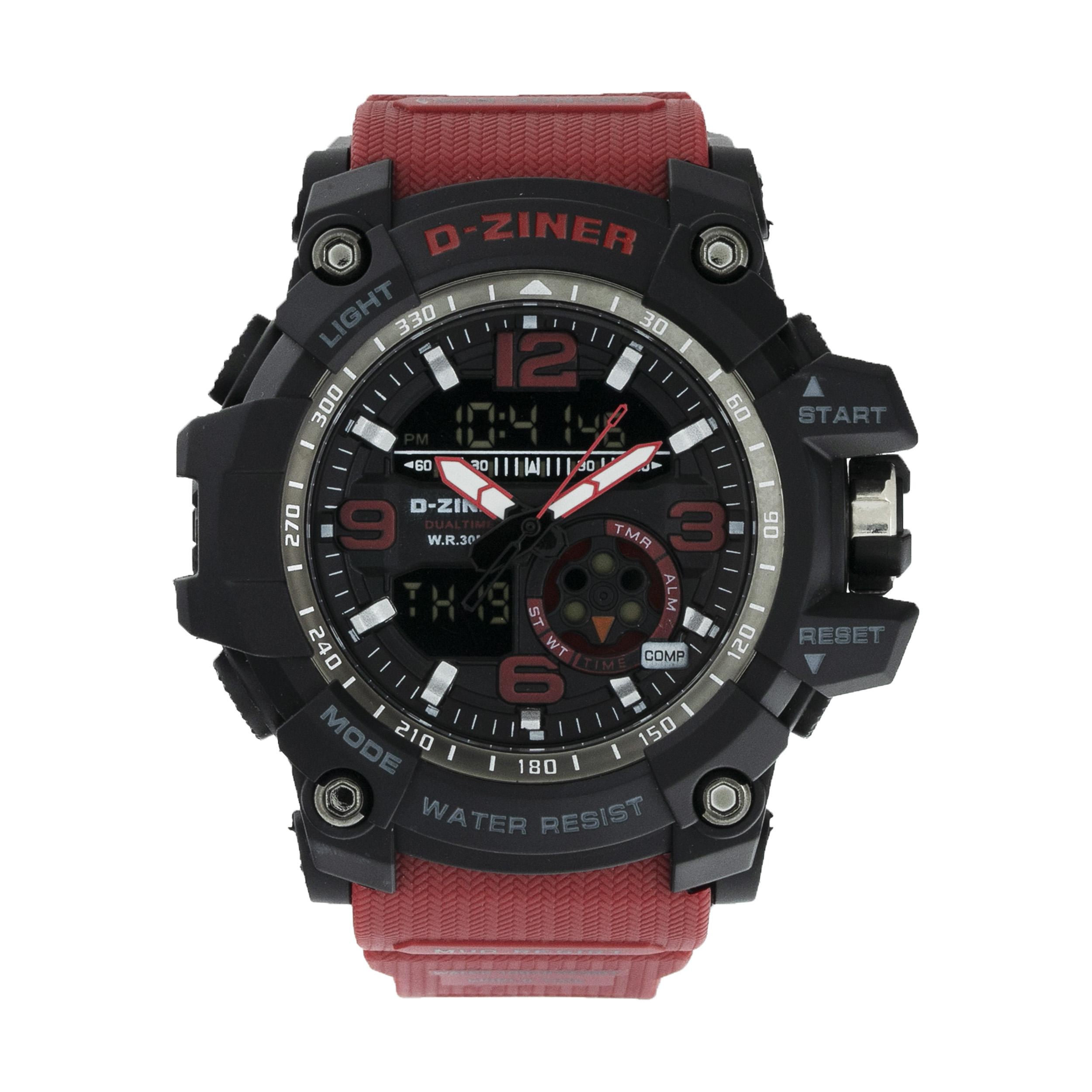 ساعت مچی عقربه ای مردانه دیزاینر مدل D-Z7054 21