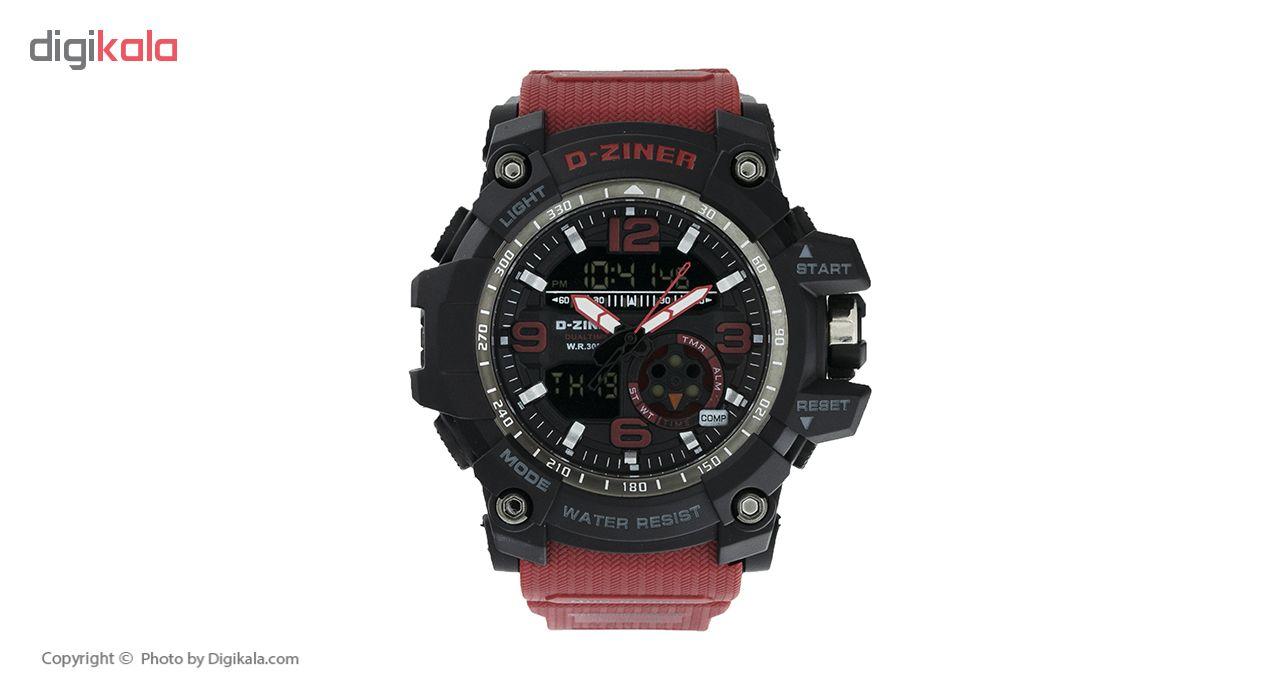 خرید ساعت مچی عقربه ای مردانه دیزاینر مدل D-Z7054