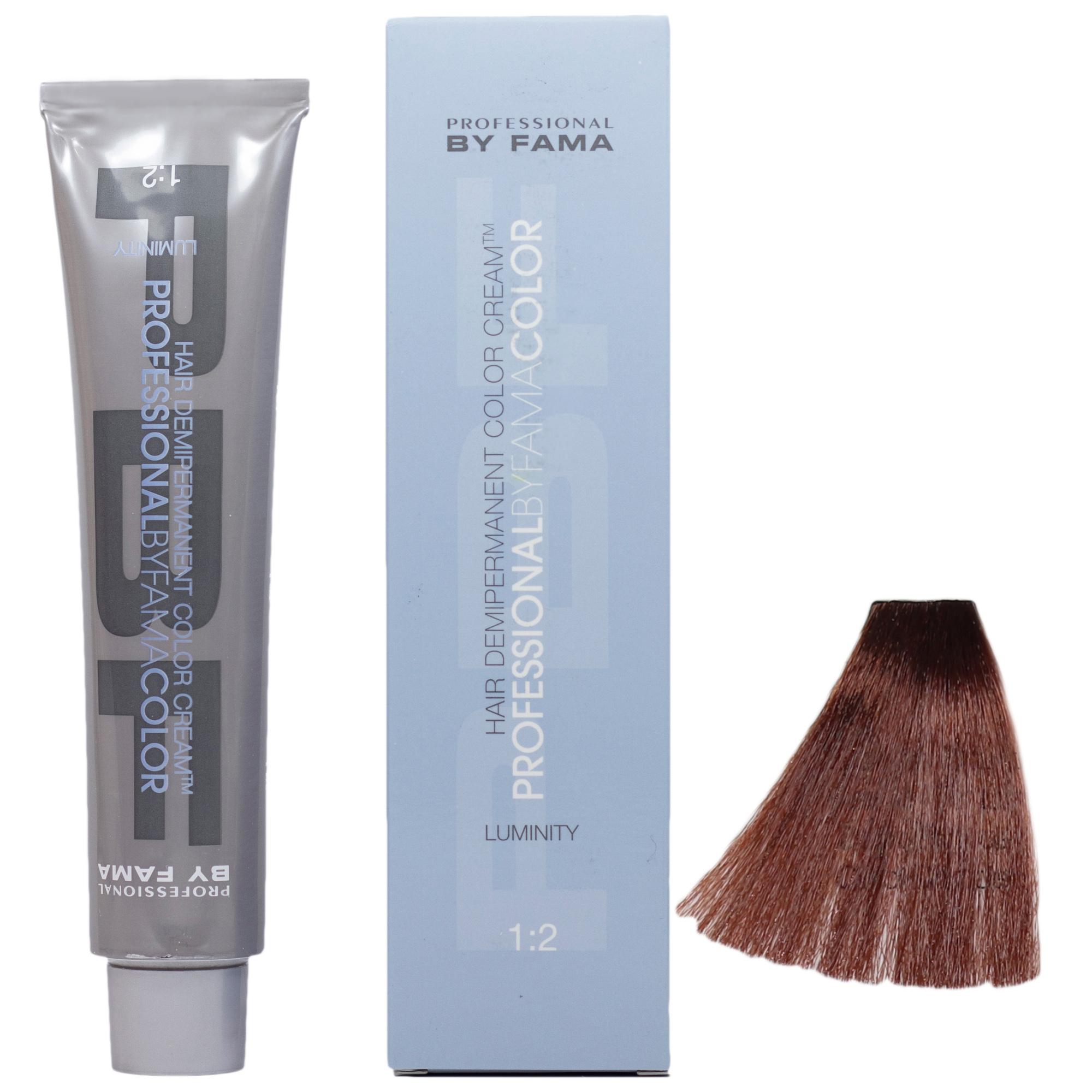 رنگ مو پروفشنال بای فاما سری لومینیتی شماره 6.14 حجم 80 میلی لیتر رنگ مسی متوسط