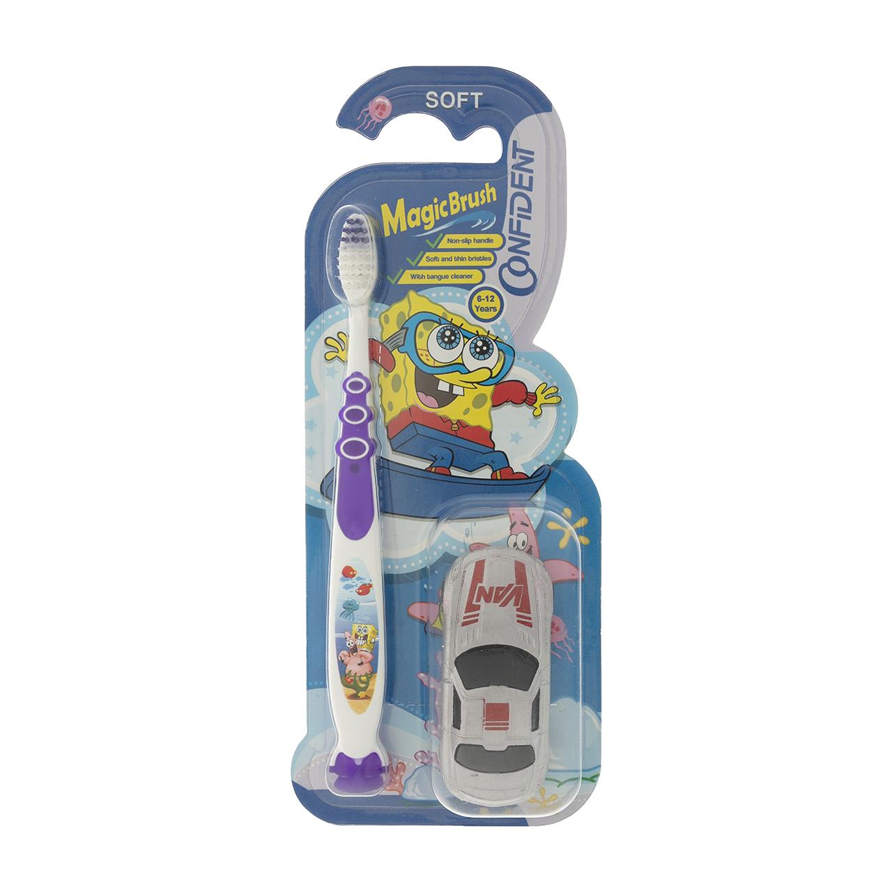 مسواک کودک کانفیدنت مدل Magic Brush