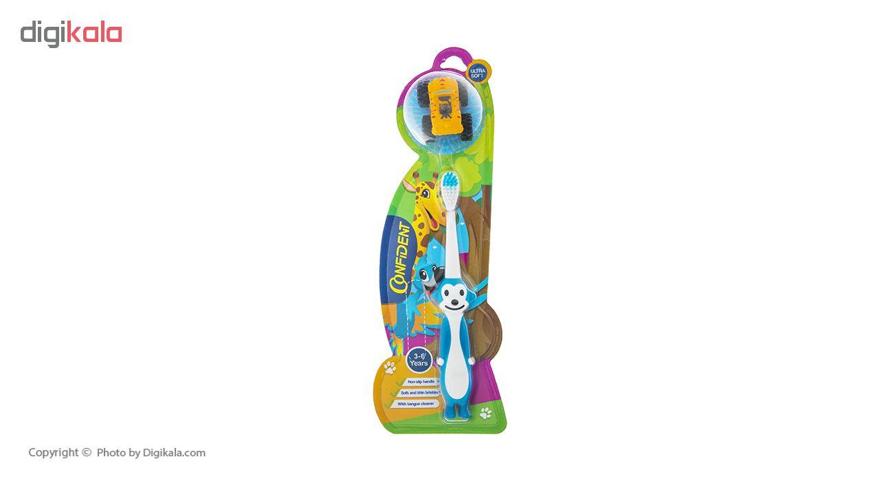 مسواک کانفیدنت مدل Tiny Monkey با برس نرم main 1 1