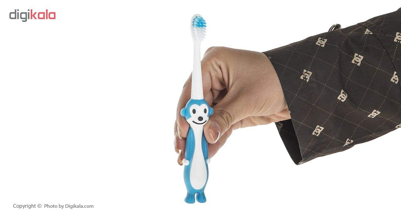 مسواک کانفیدنت مدل Tiny Monkey با برس نرم main 1 16