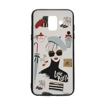 کاور مدل Beauty طرح Love Paris مناسب برای گوشی موبایل سامسونگ Galaxy A6 Plus 2018