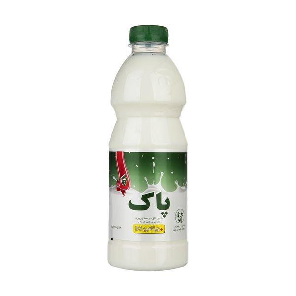 شیر تازه کم چرب پاک حجم 1 لیتر
