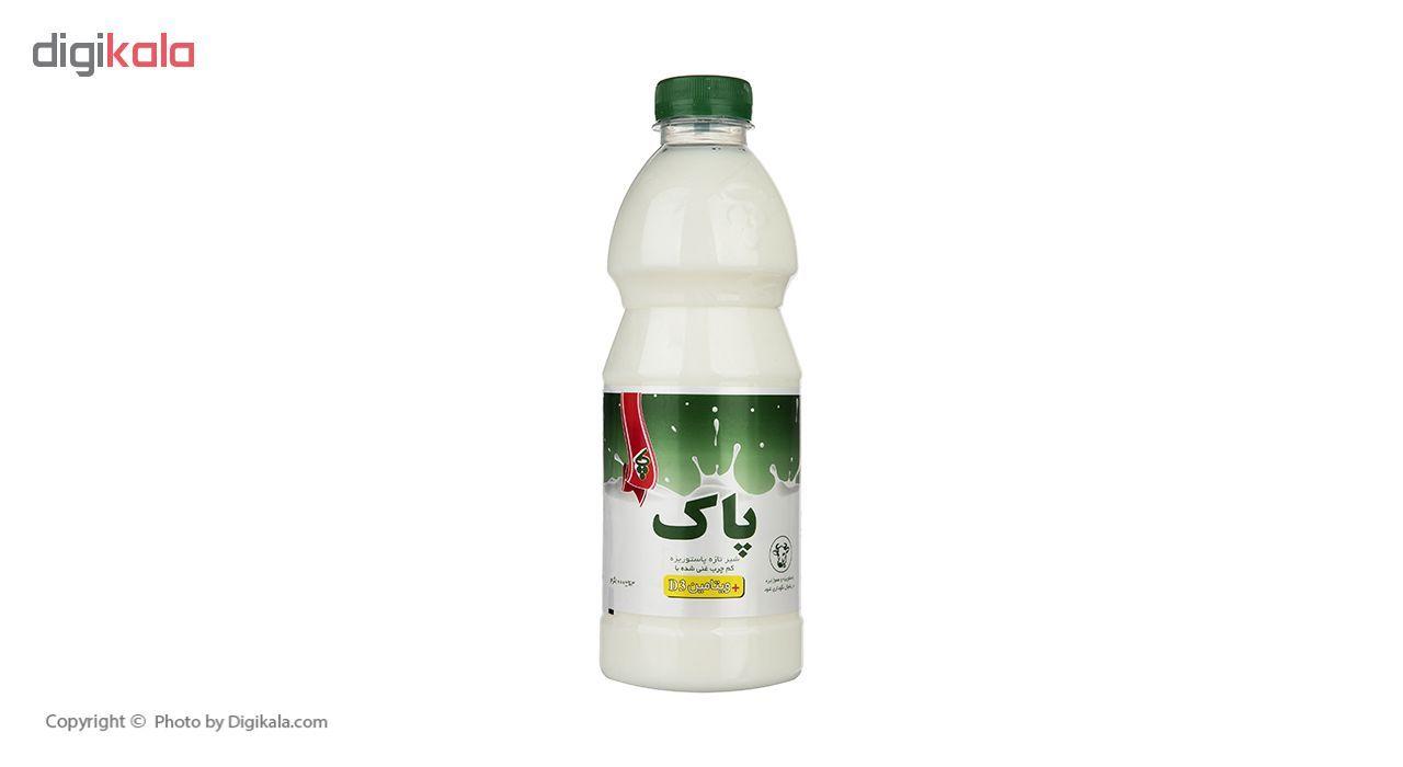 شیر تازه کم چرب پاک حجم 1 لیتر main 1 1