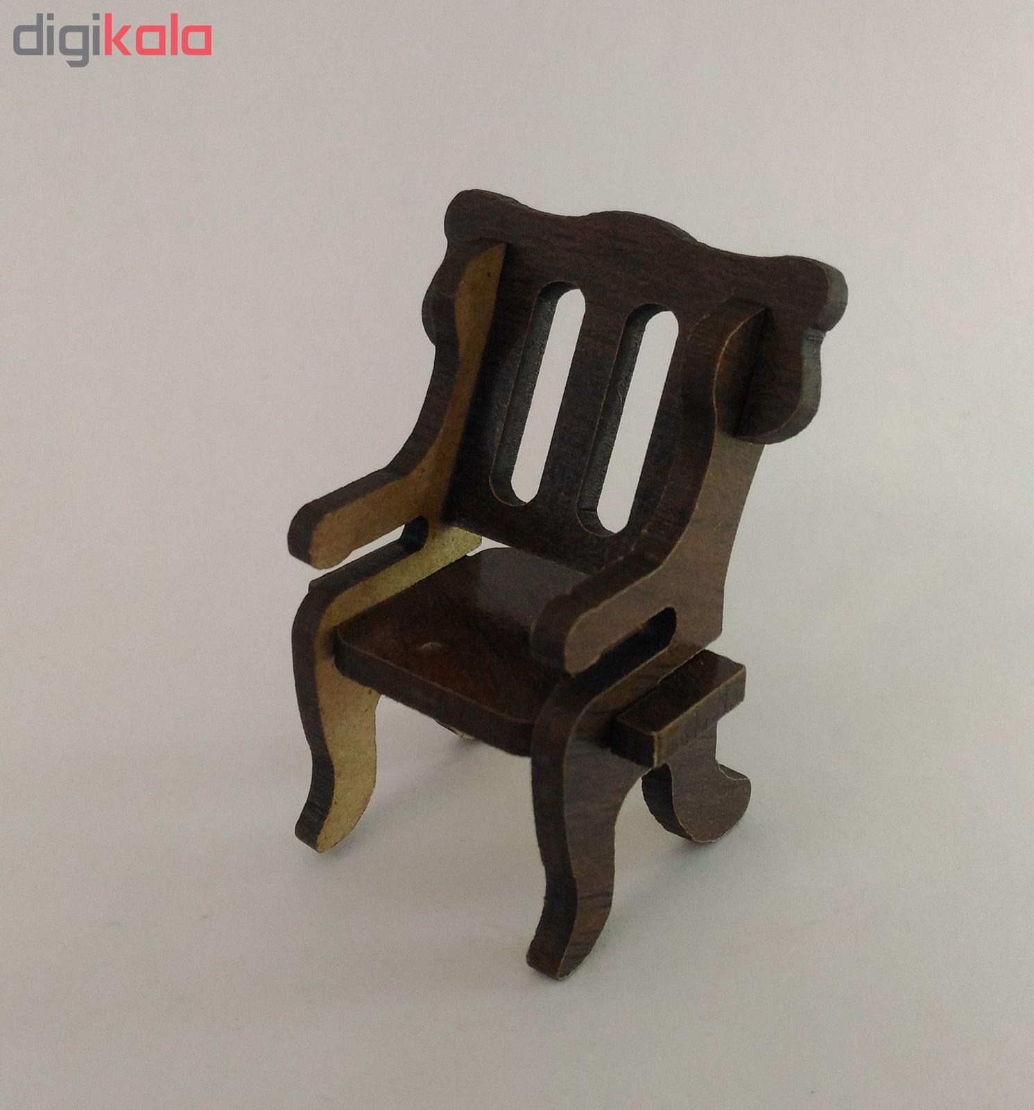 ماکت دکوری طرح صندلی کد ck024