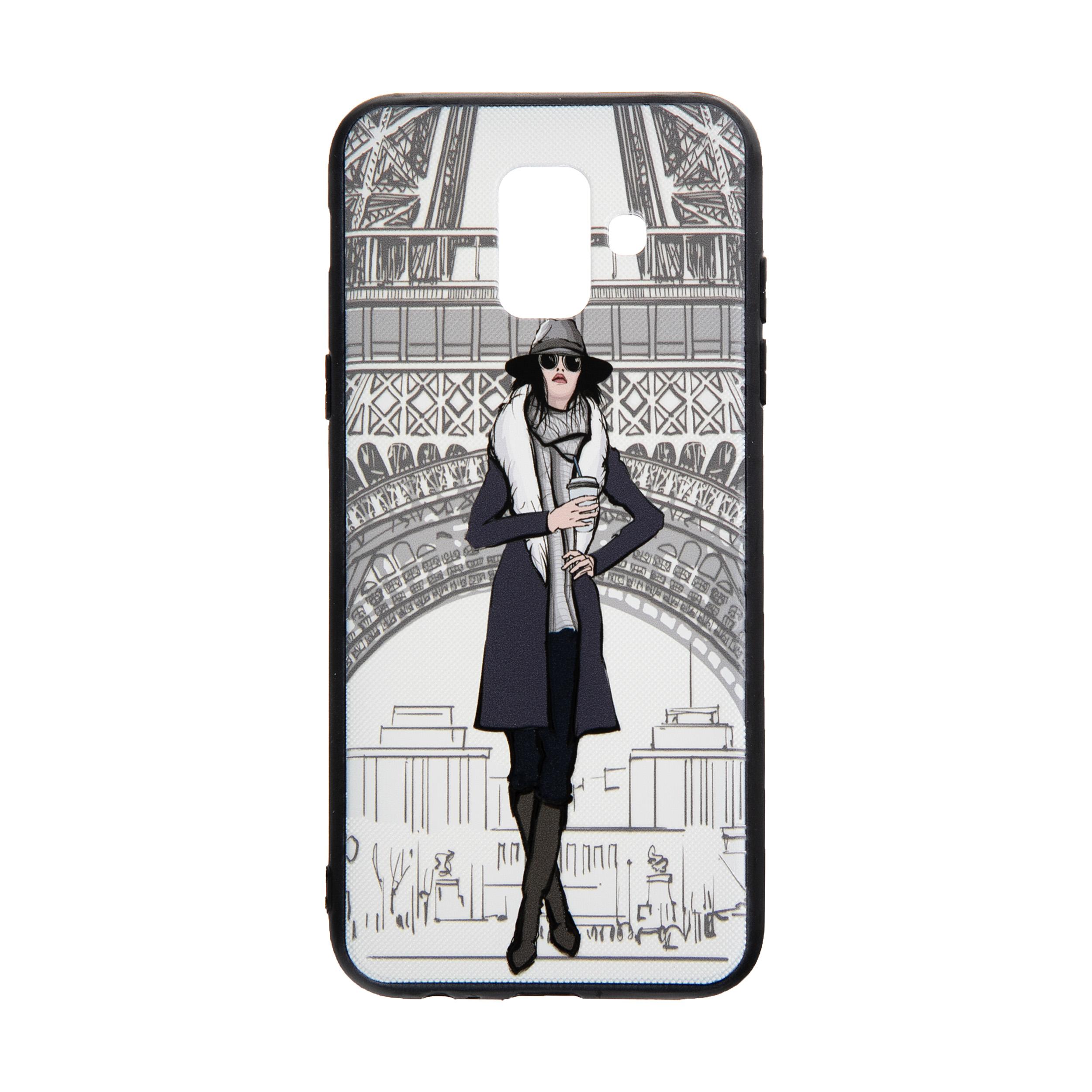 کاور مدل Beauty طرح Paris مناسب برای گوشی موبایل سامسونگ Galaxy J6 2018