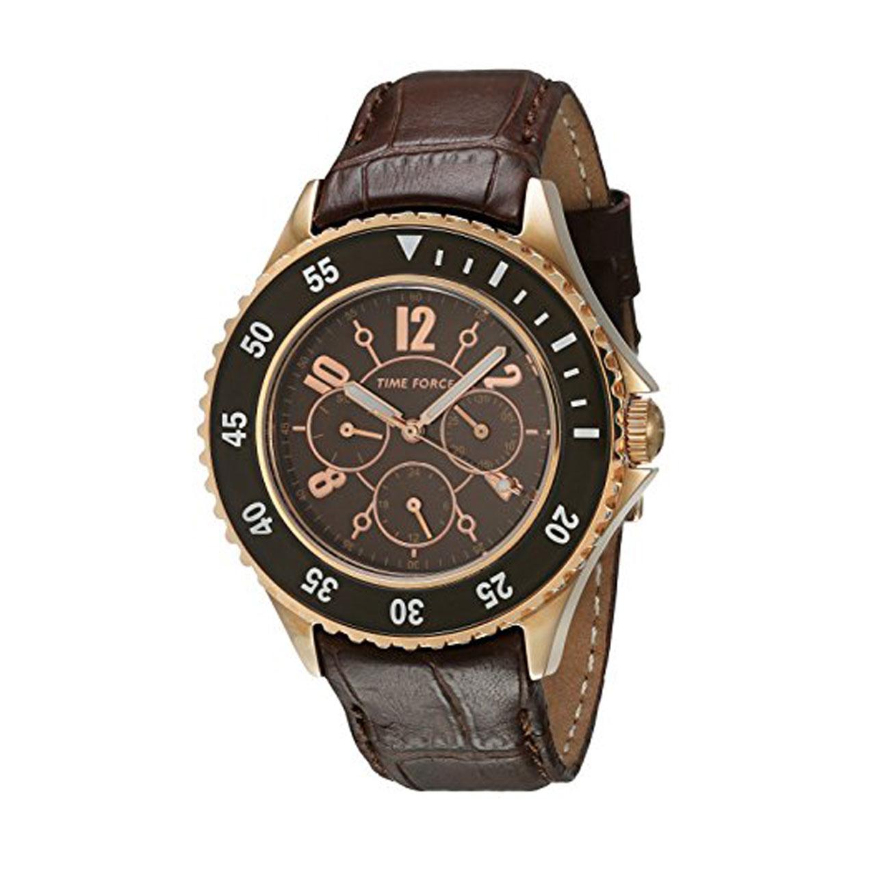 ساعت مچی عقربه ای مردانه تایم فورس مدل TF3300L14
