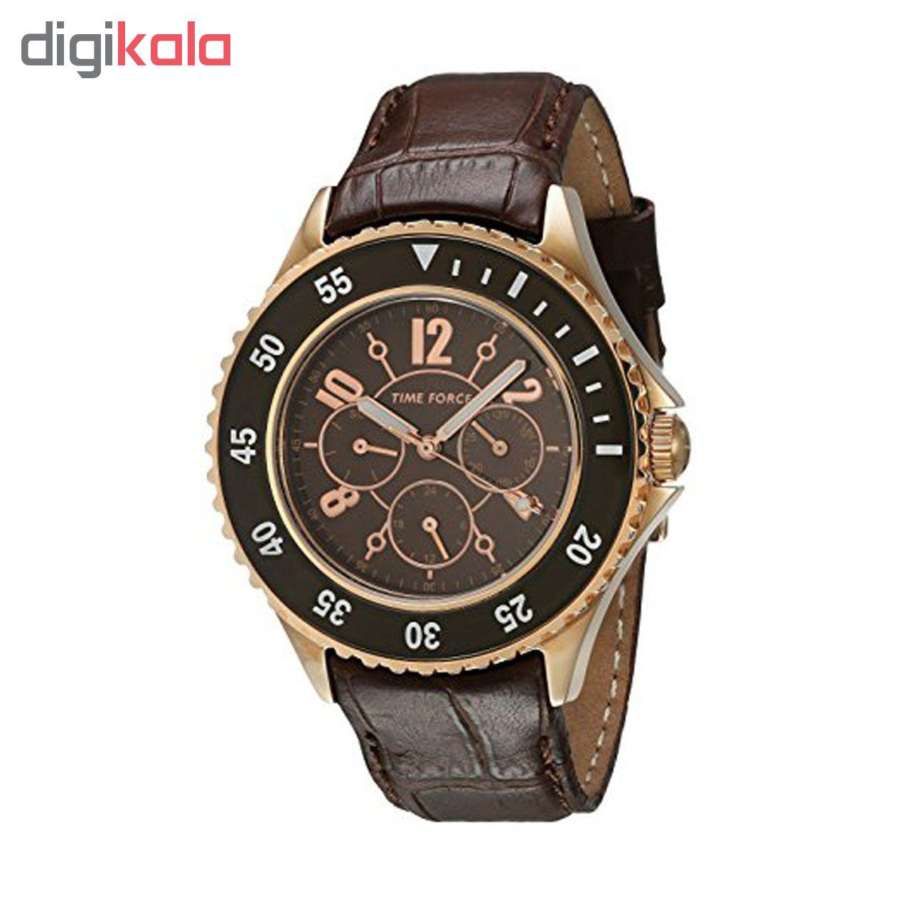 خرید ساعت مچی عقربه ای مردانه تایم فورس مدل TF3300L14