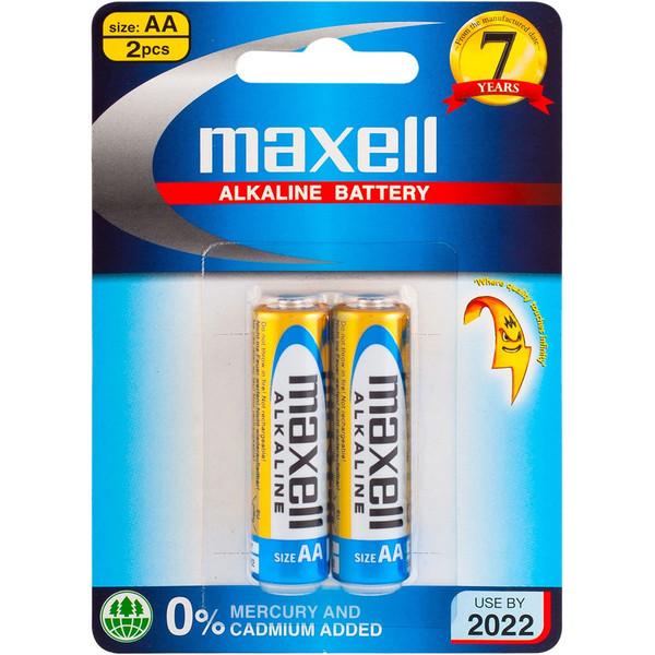 باتری قلمی مکسل مدل Alkaline بسته 2 عددی