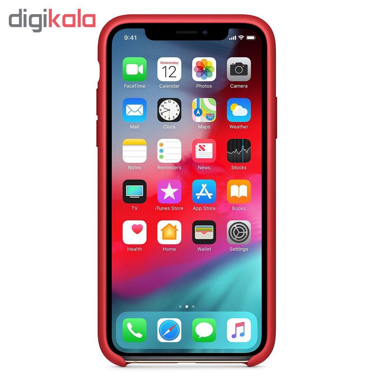 کاور مدل sili003 مناسب برای گوشی موبایل اپل Iphone X / XS main 1 2