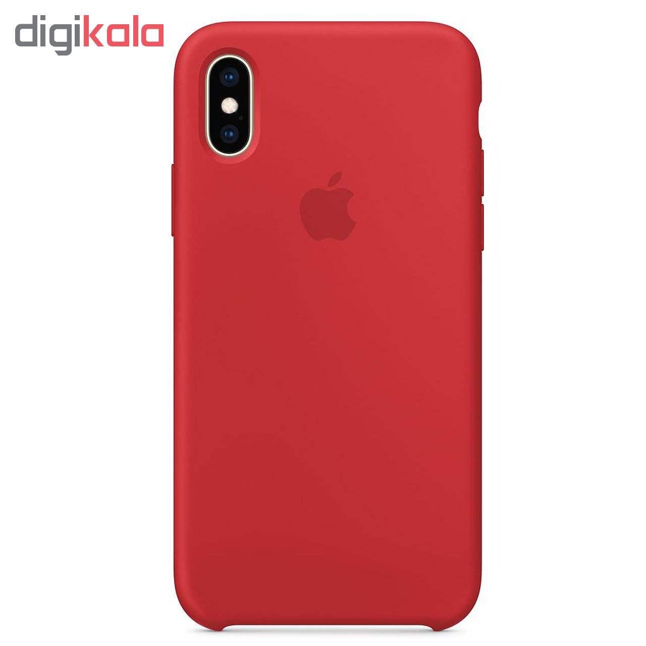 کاور مدل sili003 مناسب برای گوشی موبایل اپل Iphone X / XS main 1 4