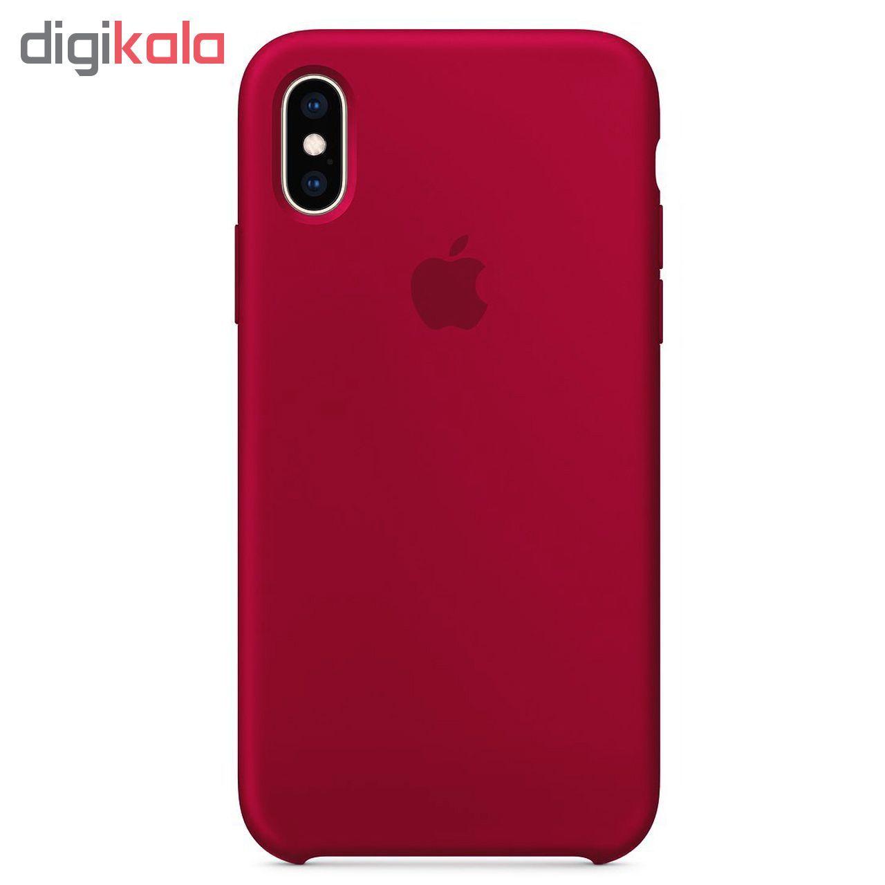کاور مدل sili003 مناسب برای گوشی موبایل اپل Iphone X / XS main 1 5