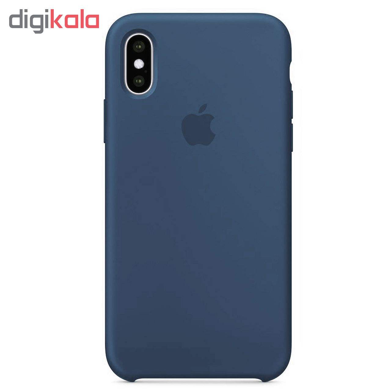 کاور مدل sili003 مناسب برای گوشی موبایل اپل Iphone X / XS main 1 8
