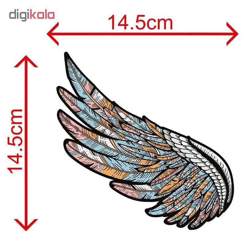 استیکر لپ تاپ طرح wings کد 01 main 1 5