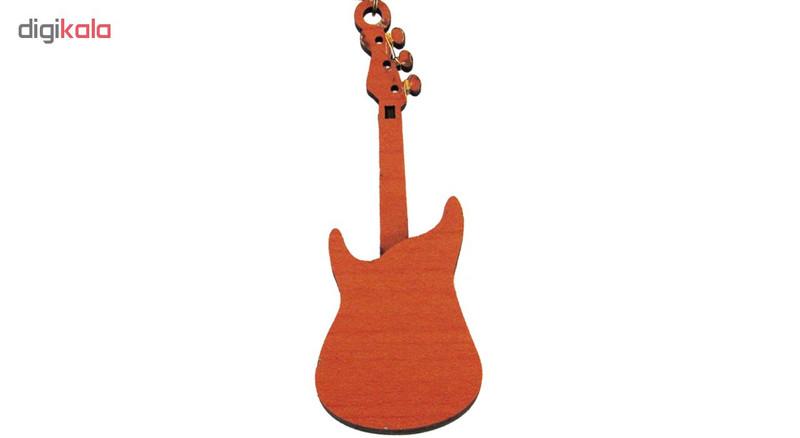گردنبند برندزکالا طرح گیتار برقی مدل BK-339