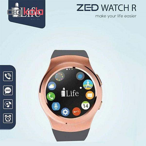 ساعت هوشمند آی لایف مدل Zed Watch R Silver main 1 1