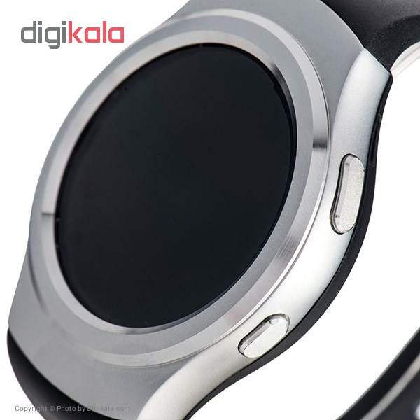 ساعت هوشمند آی لایف مدل Zed Watch R Silver main 1 5