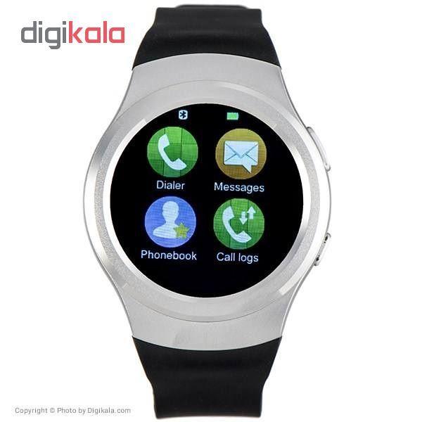 ساعت هوشمند آی لایف مدل Zed Watch R Silver main 1 6